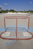 Roller Hockey Net Stock Photo