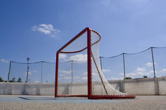 Roller Hockey Net Stock Image