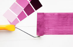Roller paint Stock Photography