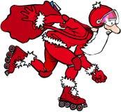 Roller Santa Images stock