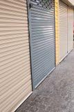 Roller shutter door of front gate Royalty Free Stock Image