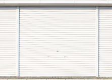 Roller shutter door Royalty Free Stock Image