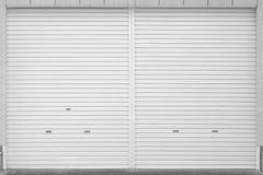 Roller shutter door Royalty Free Stock Photo