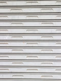 Roller shutter garage door Royalty Free Stock Photo