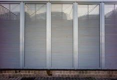 Roller shutter texture stock photography