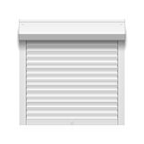 Roller shutter Royalty Free Stock Photo