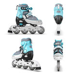Roller skate from different angles Royalty Free Stock Photo