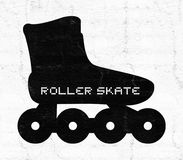 Roller skate icon Royalty Free Stock Photos