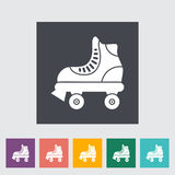 Roller skate. Icon. Flat vector related icon for web and mobile applications. It can be used as - logo, pictogram, icon, infographic element. Vector vector illustration