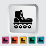Roller skate. Icon. Flat vector related icon for web and mobile applications. It can be used as - logo, pictogram, icon, infographic element. Vector royalty free illustration