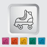 Roller skate Royalty Free Stock Photo