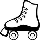 Roller skate vector illustration Stock Photos