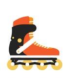 Roller Skate Vector Illustration in Flat Design Royalty Free Stock Image