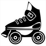Roller skate on white Stock Image