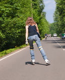 Roller skater Stock Photography