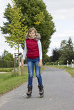Roller skater Royalty Free Stock Photos