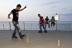 A roller skater, Lebanon Stock Photos