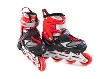 Roller skates. On a white background Stock Photo