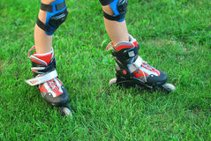 Roller skates Royalty Free Stock Photo