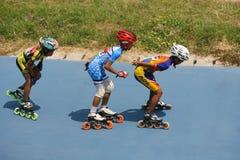 Roller skates Stock Images