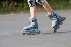 Roller skates Royalty Free Stock Photos