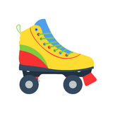 Roller skates illlustration stock photography
