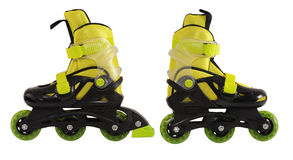 Roller skates. Isolated Stock Photos