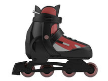 Roller skates isolated Stock Photos