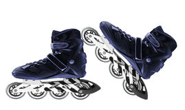 Roller skates isolated on white Royalty Free Stock Photo