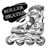 Roller-skates Stock Image