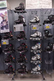 Roller skates in the store Stock Images
