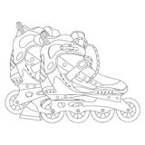 Roller skates 03 Royalty Free Stock Photography