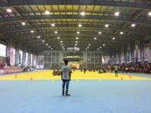 Roller skating complex. Dhaka in bangladesh Stock Photo