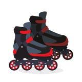 Roller skating design Royalty Free Stock Photo