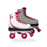 Roller skating design Royalty Free Stock Photos