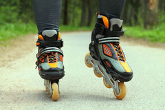 Roller Skating Royalty Free Stock Images