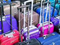 Roller Suitcases Stock Images