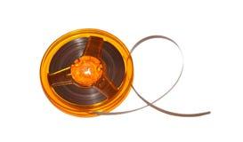 Roller Tape cassette spool Royalty Free Stock Image