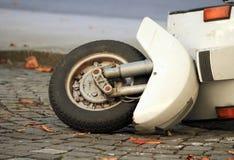 Roller unten in der Straße Stockfoto