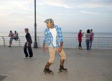 Rollerblader, Beirut Lizenzfreie Stockfotos