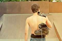 Rollerblader Royalty Free Stock Photo