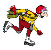 Rollerblader Royalty Free Stock Images