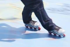 rollerblades σκέιτερ Στοκ εικόνα με δικαίωμα ελεύθερης χρήσης
