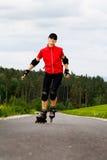 Rollerblades для девушок стоковое фото rf