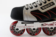 Rollerblades stock images