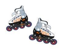 Rollerblades ελεύθερη απεικόνιση δικαιώματος