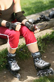 Rollerblades Stock Photo