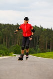 Rollerblades for girls 2 Stock Photo