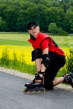 Rollerblades for girls Royalty Free Stock Photography