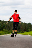 Rollerblades for girls Royalty Free Stock Photo